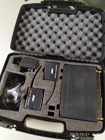 микрофон-за-телефон-цена в Кыргызстан: Петличный микрофон,радиопетличка из США цена 7500