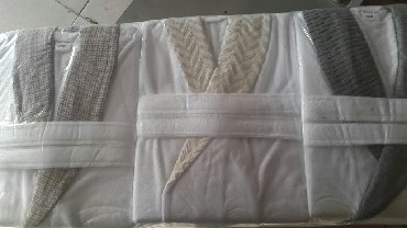 свитшот и юбка карандаш в Кыргызстан: Женкой и мужской халат  Товар из турции  46 до 56 размер
