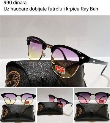 Ray ban sunglasses - Srbija: Ray Ban NOVO Uz naocare dobijate futrolu i krpicu Ray Ban