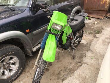 Kawasaki - Кыргызстан: Продаю Kawasaki KlR 250d двух распредвальный. С документами. Отличное