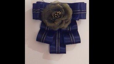 Broš mašne od satena za košulju,šal ili sako - Jagodina - slika 6