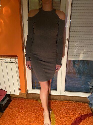 Crvena haljina za devojke visine - Srbija: Džemper haljina Jako kvalitetna Velicina S-M