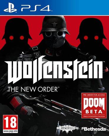 Wolfeinstein Ps4. Sony PlayStation 4 oyunlarının və aksesuarlarinin