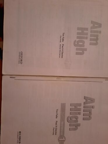 pocket book - Azərbaycan: Aim high. Woorkbook student book. 4 azn. Ksrksdir. Bütün vərəqləri var