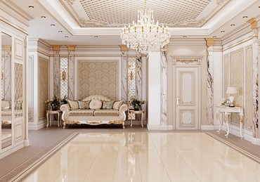 дизайн наволочки в Кыргызстан: Шикарный дизайн холла. Дизайн проект в БишкекеРемонт под ключДизайн