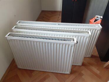 Radijator - Srbija: 3 panelska radijatora dimenzije 100×60 i 80×60 korisceni 3 meseca