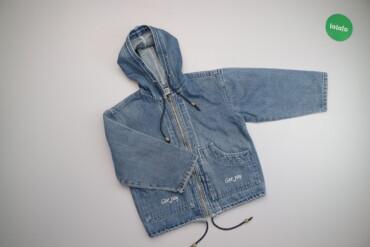 Жіноча стильна джинсова куртка Gee Jay, p. XL    Довжина: 49 см Ширина