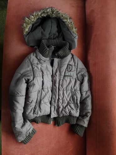 Zimske jakne sa krznom - Srbija: KAO NOVA CityRck siva zimska jakna vel. 8  Extra siva zimska jakna ve