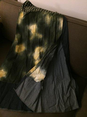 Μακρύα boho φούστα με μεγάλο σκίσιμο μπροστά .Gusto Barcelona Με λεπρό σε Υπόλοιπο Αττικής - εικόνες 4