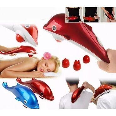 Delfin masaj aparatı vasitəsilə əl çatmayan hissələri rahatlıqla masaj