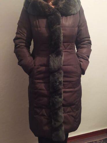 свадебное платье размер 46 48 в Кыргызстан: Продаю зимнюю женскую куртку размер -46-48