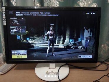 Игровой компьютер! Монитор AOC 23 дюймов! LED экран! Сенсорное кнопки