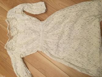 длинное белое платье в Кыргызстан: Гипюровое белое платье, очень красивое, длина выше колена. Качество