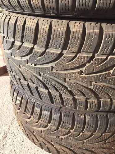 шины бу r16 в Кыргызстан: Продаю шины 225/50/17 из Канады