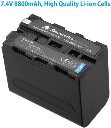 NP-F970 batareyaOriginal Powerextra Brendivideo kamera video monitor