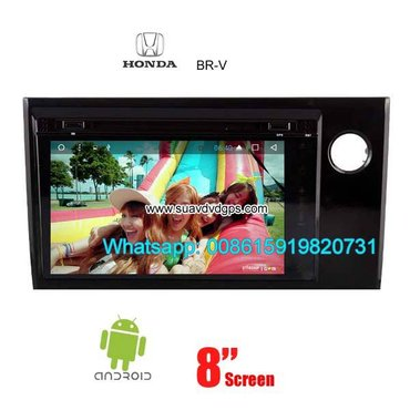 Honda BRV Car audio radio update android GPS navigation camera in Kathmandu