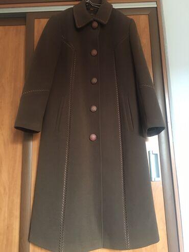 Пальто турецкое 48-50 размер кофейного цвета фирма Loretta ( почти н