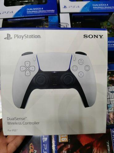 qadın üçün dəri krosovkalar - Azərbaycan: PS5- DUALSENSE WIRILESS CONTROLLER PULT🧨PlayStation 4 və PlayStation 5
