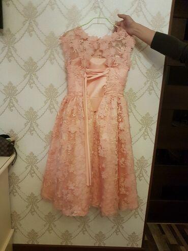 летнее платье 48 размера в Кыргызстан: Продаю платье размер 46-48, сшитое на заказ, французская длина