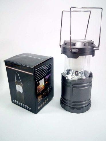 Ostali kućni aparati   Bela Palanka: Kamp LED Lampa ( 3 AA ) - sivaKvalitetna led lampa za kapmovanje, kucu