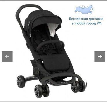 Продаётся коляска почти новая,чёрного цвета Nunaсупер легкая и