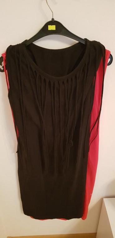 Haljine | Vrsac: Crna haljina uz telo Sa resama 600 din Univerzalna sa elastinom