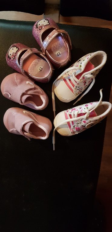 Skafander za bebe - Pozarevac: Patike za bebe,br 17, cena je za sva 3 para