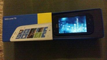 Masallı şəhərində Nokia lumia 710 telefonu satilir,2012ci ilden alinib tekce bir problem