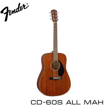 Гитара акустическая FENDER CD-60S ALL MAH – в Бишкек