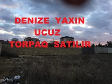 Bakı şəhərində TECILI DENIZ QIRAQINDA TORPAQ SATILIR