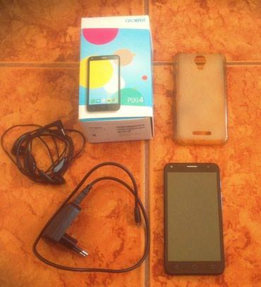 Alcatel one touch Pixi 4 Duos 2 nomreli, boz reng , ela iwleyir, hec - Bakı