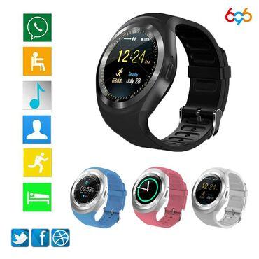 Smart Watch Y1✓Sim kart dəstəkli✓Səs yazma ✓Mp3 ✓Mesaj✓Buletooth