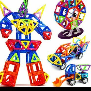 Детский мир - Кемин: Игрушка!!!!!!!!!!!!!! развивает мышление ребенка!!!  Магнитный констр