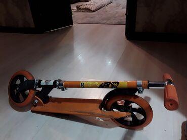 самокат scooter в Кыргызстан: Оранжевый самокат