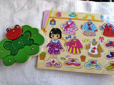 Развивающие деревянные игрушки. в Бишкек