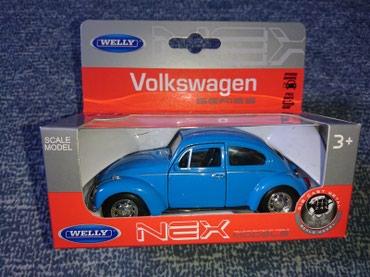 Metalni Volkswagen Buba Auto  - Belgrade