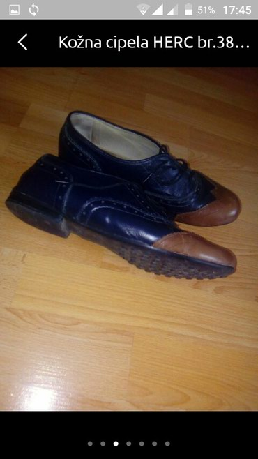 Kožna cipela br.38 - Vranje