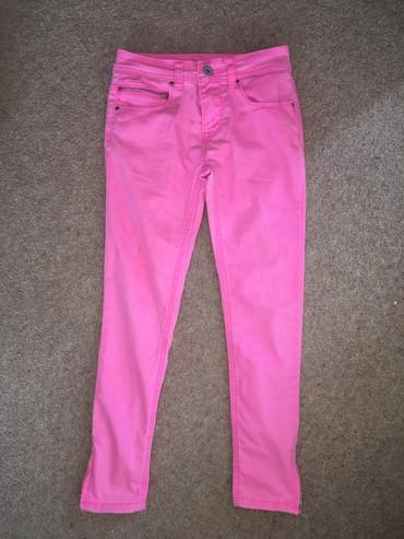 Primark розовые джинсы, состояние отличное, размер: 7-9 лет