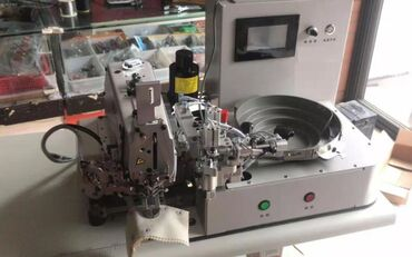 Пуговичная спец машинка автомат