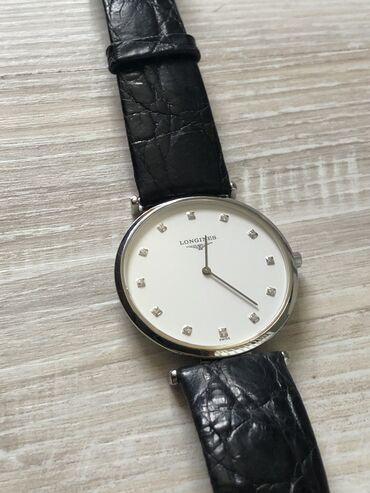 корова купить цена в Кыргызстан: Белые Унисекс Наручные часы Longines