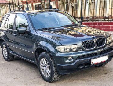 BMW - Зеленый - Бишкек: BMW X5 3 л. 2004 | 242000 км