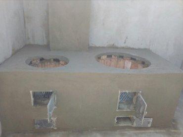 Печка очок барбекю контрамарка камин в Бишкек