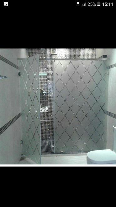 duş üçün gellər - Azərbaycan: Dus kabin sade acilan