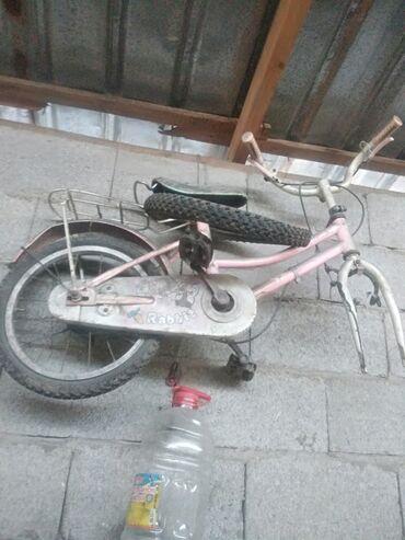 Спорт и хобби - Заря: Продаю детский велосипед без переднего камеры в хорошем состоянии