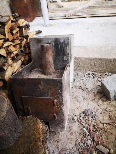 Ремонт и строительство - Кызыл-Кия: Банная печь нержавеющая