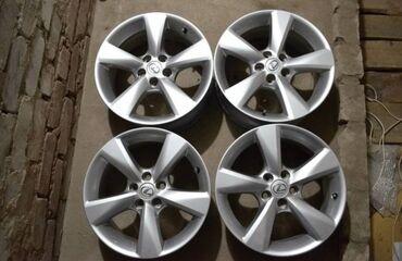 Транспорт - Кыргызстан: R18 Lexus Rx 3 поколения! Параметры дисков 7.5j Et35. Диски привозные