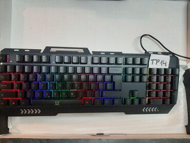 Tastatura | Srbija: Gaming rgb metalna crna . malo koriscena TP14