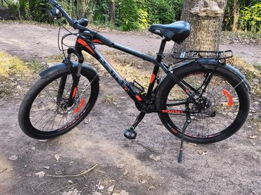 audi cabriolet 26 v6 в Кыргызстан: Продаю велосипед.АЛЮМИНИЕВАЯ РАМА -21 скорость -Механические дисковые