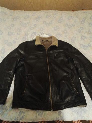 Bakı şəhərində продаётся кожаная куртка , хорошего качества. ( есть не большие пробле