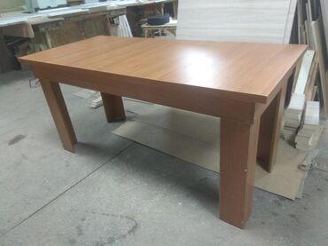 стол-раскладушка в Кыргызстан: Стол 1.75*80*75. ( новые утолщенные) цвет орех.    Под заказ столы: го